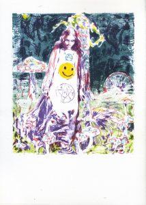 Dominic Shepherd | Baptism | 2014 | Seven colour litho print on 300g Somerset Satin paper (Ed. 50) | 29.7x21cm