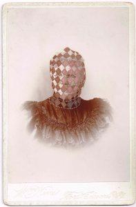 Tom Butler | Nims | 2014 | Gouache on Albumen print | 16.5x10cm