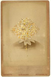Tom Butler | Aufrecht | 2014 | Gouache on Albumen print | 16.5×10.5cm