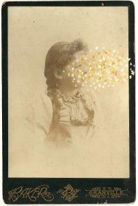 Tom Butler | Baker | 2014 | Gouache on Albumen print | 16.5×10.5cm