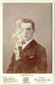 Tom Butler | Cordingly | 2014 | Gouache on Albumen print | 16.5×10.5cm