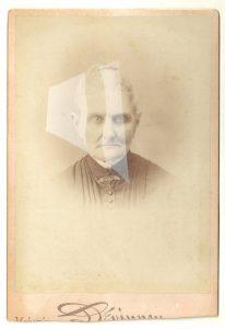 Tom Butler | Derinney | 2014 | Gouache on Albumen print | 16.5×10.5cm