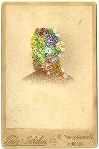 Tom Butler | Finley | 2014 | Gouache on Albumen print | 16.5×10.5cm