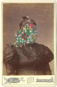 Tom Butler | Goebel | 2014 | Gouache on Albumen print | 16.5×10.5cm