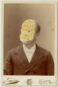 Tom Butler | Hemery | 2014 | Gouache on Albumen print | 16.5×10.5cm