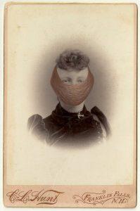 Tom Butler | Hunt | 2014 | Gouache on Albumen print | 16.5×10.5cm