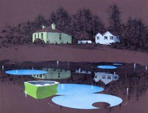 Graham Crowley | Dark Flood | 2014 | Oil on canvas | 72x92cm