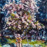 Dominic Shepherd   The Apple Tree   2015   Oil on linen   40x32cm