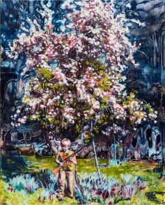 Dominic Shepherd | The Apple Tree | 2015 | Oil on linen | 40x32cm