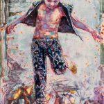 Dominic Shepherd   The Fool   2015   Oil on linen   42x30cm