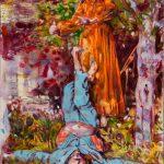 Dominic Shepherd   The Hanged Man   2015   Oil on linen   42x30cm