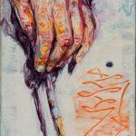 Dominic Shepherd   The Wand   2015   Oil on linen   20x14cm