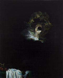 Emma Bennett | Wintering | 2015 | Oil on oak panel | 25x20cm