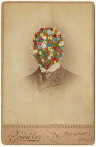 Tom Butler | Bradley | 2014 | Gouache on Albumen print | 16.5×10.5cm