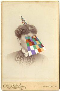 Tom Butler | Jackson | 2014 | Gouache on Albumen print | 16.5×10.5cm