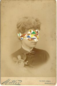 Tom Butler | Milly | 2014 | Gouache on Albumen print | 16.5×10.5cm
