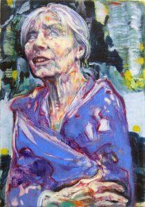 Dominic Shepherd | The Medium | 2015 | Oil on linen | 20x12cm