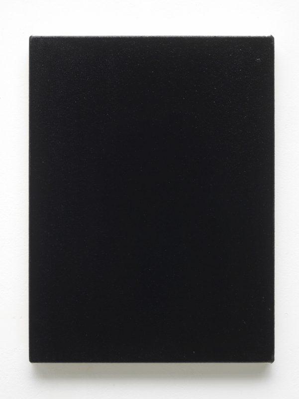 Gavin Turk | Black Oil | 2015 | Sump oil on canvas | 40x30cm