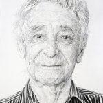 Jelena Bulajic | Miro – A Study | 2015 | Watercolour and pencil on paper | 36.5×25.5cm