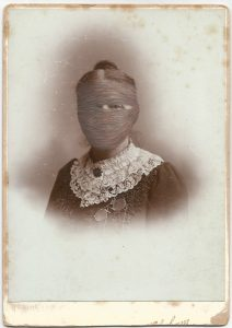 Tom Butler | Pam | 2015 | Gouache on Albumen print | 16.5×10.5cm
