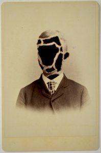 Tom Butler | Dipple | 2015 | Gouache on albumen print | 16.5×10.5cm