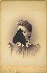 Tom Butler | S,C | 2015 | Gouache on albumen print | 16.5×10.5cm