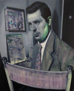 Gavin Nolan   Moore's Law   2016   Oil on canvas   155x125cm