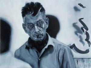 Gavin Nolan | Bleakest Cut Me | 2016 | Oil on linen | 24x18cm