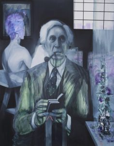 Gavin Nolan | Slanderers Blurt | 2016 | Oil on canvas | 155x125cm