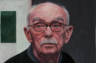 Hugh Mendes | Obituary Raoul De Keyser | 2015 | Oil on linen | 30x25cm