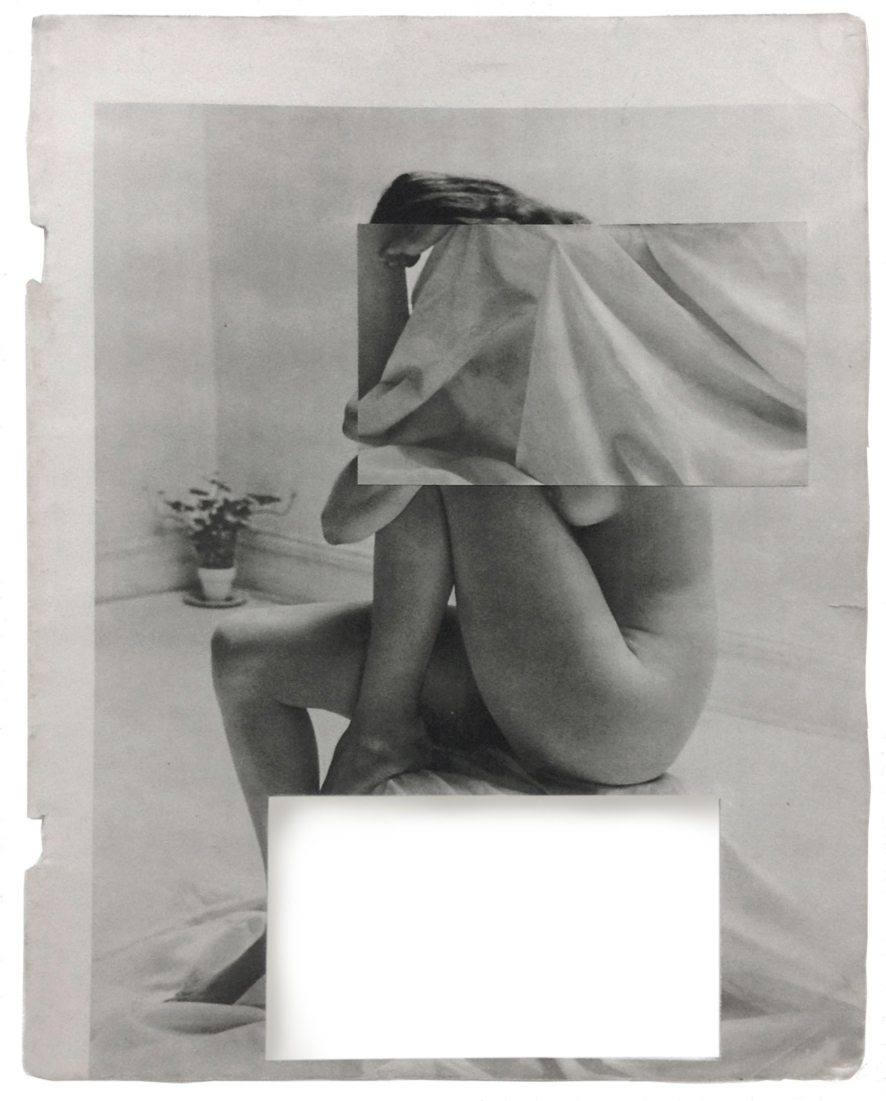 Cecilia Bonilla | Sets for domestic leisure 1 | 2015 | Collage | 29x23cm