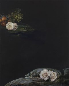 Emma Bennett | A Plentiful Solitude | 2016 | Oil on canvas | 50x40cm