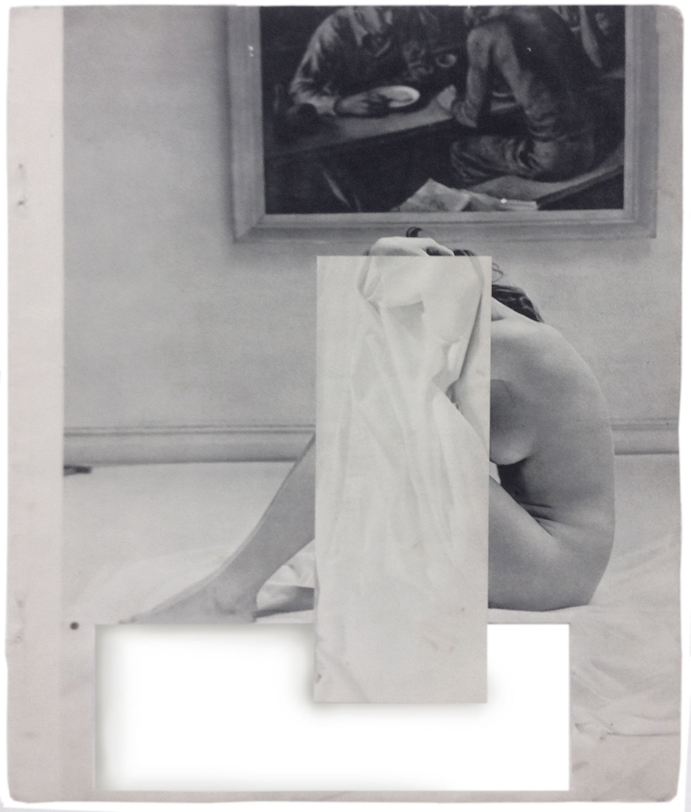 Cecilia Bonilla | Sets for domestic leisure 2 | 2015 | Collage | 29x23cm