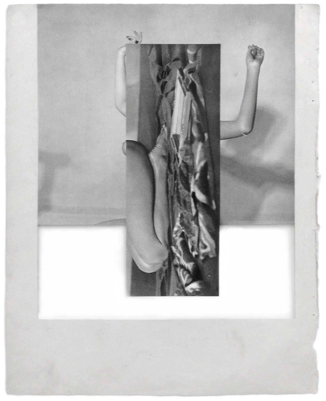 Cecilia Bonilla | Sets for domestic leisure 3 | 2015 | Collage | 29x23cm