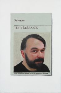 Hugh Mendes | Obituary: Tom Lubbock | 2011 | Oil on linen | 30x20cm