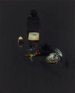 Emma Bennett | All I Remember | 2017 | Oil on oak panel | 25x20cm