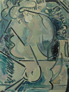 Kiera Bennett | Cave | 2016 | Oil on canvas | 60x45cm