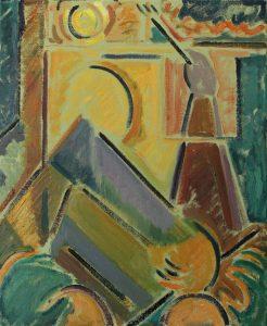 Kiera Bennett | Green Hands | 2016 | Oil on canvas | 55x45cm