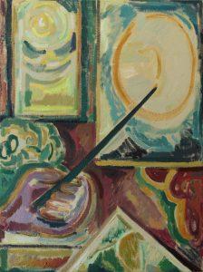 Kiera Bennett | Matisse's Hand (Left) | 2016 | Oil on canvas | 60x45cm
