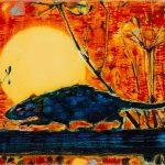 Dominic Shepherd | Harvest | 2017 | Oil on linen | 14x20cm
