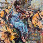 Dominic Shepherd | Heart of Oak | 2017 | Oil on linen | 102x92cm