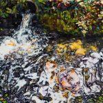 Dominic Shepherd | Ripples | 2016 | Oil on linen | 36x44cm