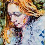 Dominic Shepherd | The Looking Glass | 2016 | Oil on linen | 20x14cm