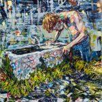 Dominic Shepherd | The Sun Rising | 2016 | Oil on linen | 44x36cm