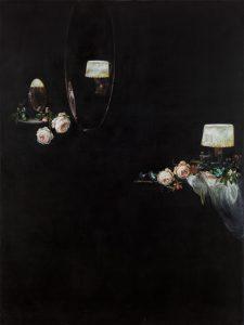 Emma Bennett | Some days (a shadow) | 2016 | Oil on canvas | 122x91cm