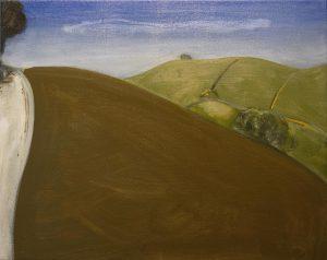 Peter Ashton Jones | The Path | 2017 | Oil on canvas | 41x51cm