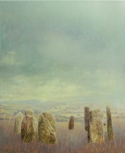 Sam Douglas | Hoar Stones | 2016 | Oil, varnish on board | 30x25cm