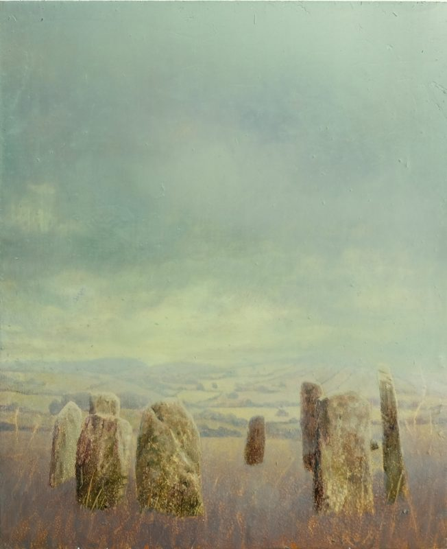 Sam Douglas | Hoar Stones | 2016 | Oil, varnish on board | 30x25cm