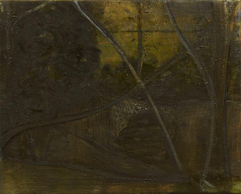 Peter Ashton Jones | The Edge | 2013 | Oil on canvas | 41x51cm