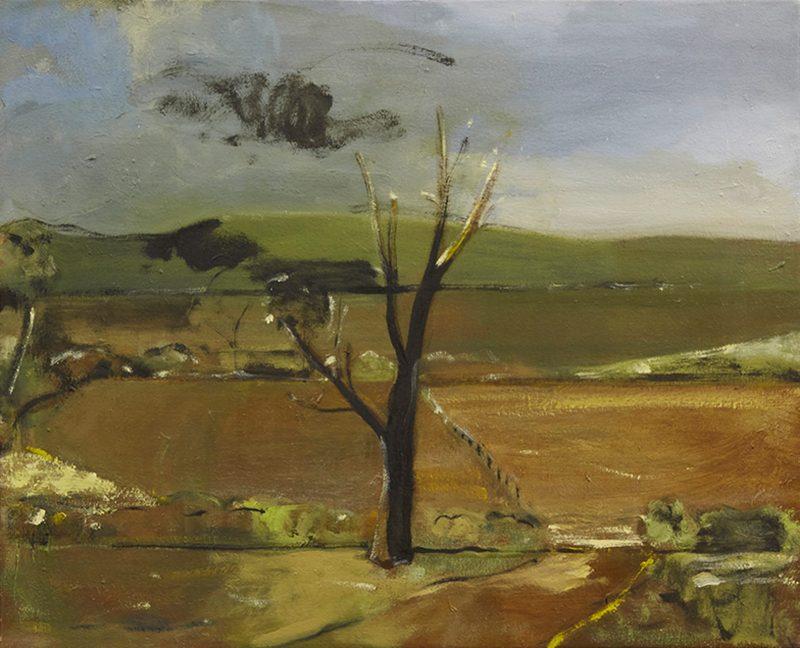 Peter Ashton Jones | The Passage | 2012 | Oil on canvas | 41x51cm